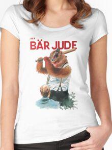 Der Bär Jude Women's Fitted Scoop T-Shirt