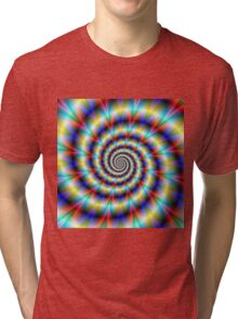 Psychedelic Twist Tri-blend T-Shirt