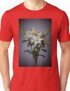 Lilies in Vase Unisex T-Shirt