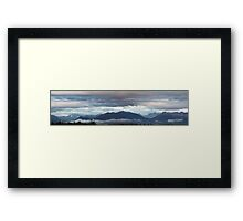 Alaskan Twilight Framed Print