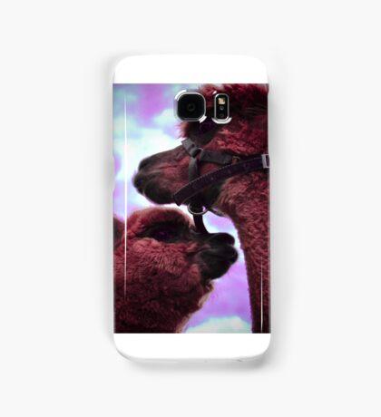 Psychedelic Alpacas Samsung Galaxy Case/Skin