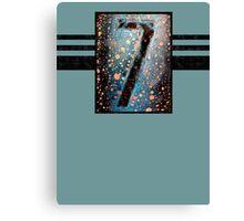 7-II Tee Canvas Print
