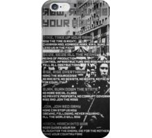 Row Row Row Your Boat: Communist Edition iPhone Case/Skin