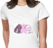 2 Nekos 1 Toy Womens Fitted T-Shirt