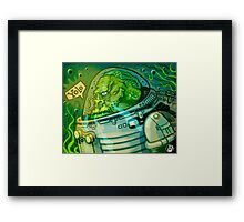 Fishmonkey! Framed Print