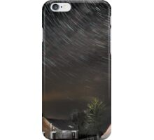 Star and lorry trails iPhone Case/Skin