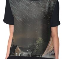 Star and lorry trails Chiffon Top