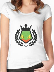 Grass Fighter Women's Fitted Scoop T-Shirt
