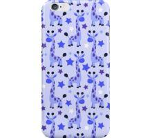 Blue Star Giraffe Pattern iPhone Case/Skin