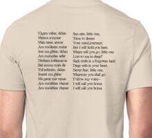 Dragon Age Inquisition- Elven Quote Unisex T-Shirt