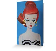Titian Barbie Greeting Card