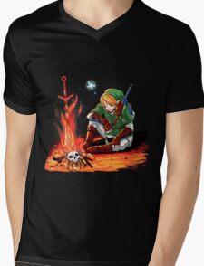 Dark link Mens V-Neck T-Shirt