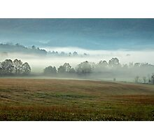 Misty Valley Photographic Print