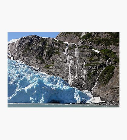 Glacial Blue Photographic Print