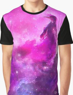 Space Penguin Graphic T-Shirt