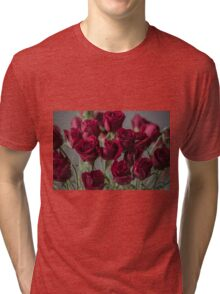 Red Roses Tri-blend T-Shirt