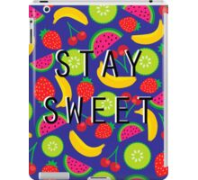 Stay Sweet iPad Case/Skin