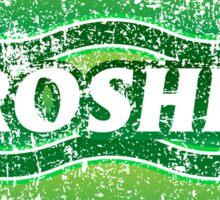 Hiroshima Municipality Japanese Symbol Distressed Sticker