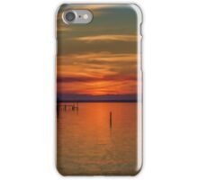 Sunset on the Bay 2 iPhone Case/Skin