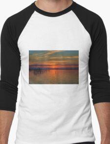 Sunset on the Bay 2 Men's Baseball ¾ T-Shirt