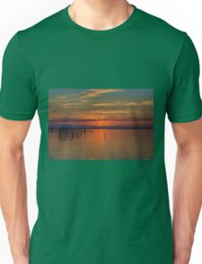Sunset on the Bay 2 Unisex T-Shirt
