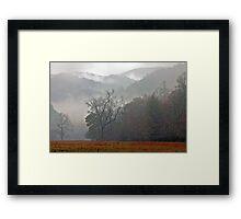 Cataloochee Dawn Framed Print