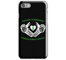 Kidney Disease Heroes iPhone Case/Skin