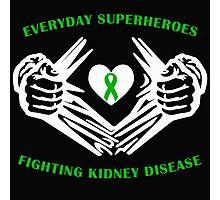 Kidney Disease Heroes Photographic Print
