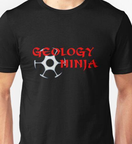 Geology Ninja  Unisex T-Shirt