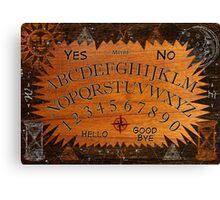 Ouija Board Canvas Print