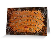 Ouija Board Greeting Card