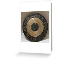 Bullseye Bling Greeting Card