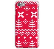 Beautiful Sweden design ♥♥ red iPhone Case/Skin
