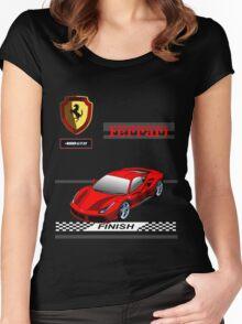 Ferrari 488 GTB II Women's Fitted Scoop T-Shirt