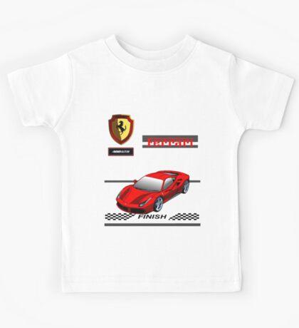 Ferrari 488 GTB II Kids Tee