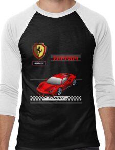 Ferrari 488 GTB II Men's Baseball ¾ T-Shirt