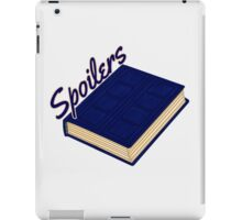 Tardis Journal SPOILERS iPad Case/Skin