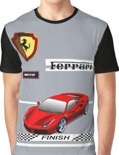 Ferrari 488 GTB I Graphic T-Shirt