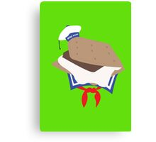 Stay Puft S'more Canvas Print