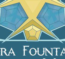Hipsters of Hyrule - Zora Fountain Artesian Water Sticker