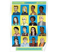 #sixseasonsandamovie Poster