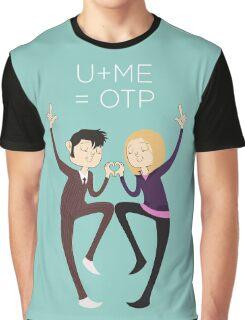 U+ME=OTP 10xROSE Graphic T-Shirt