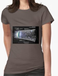 WMAP: Our Inflationary Universe Womens Fitted T-Shirt