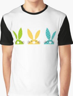 Cute Spring Bunnies #collection Graphic T-Shirt