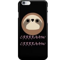 Nora - Sloth Noises 1 iPhone Case/Skin