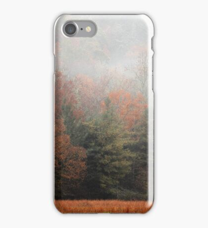 Misty Fall Morn iPhone Case/Skin