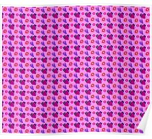 Citrus Grapes Strawberry Pattern Poster