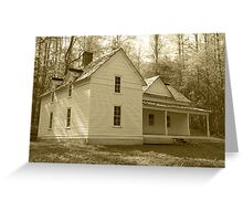 The Woody House Greeting Card