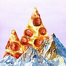 Pepperoni Pizza Peaks by jamesormiston