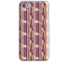 Mouse Stripes Pattern iPhone Case/Skin